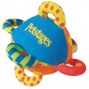 """PETSTAGES Mini Loop Ball - игрушка для собак """"Мяч с петлями мини"""""""