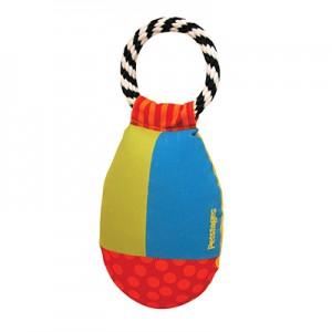 """PETSTAGES Toos & Retrieve - игрушка для крупных пород собак """"Груша с кольцом текстильная"""""""