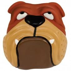 """PETSTAGES Bulldog Ball - игрушка-пищалка для средних и крупных пород собак """"Бульдог"""""""