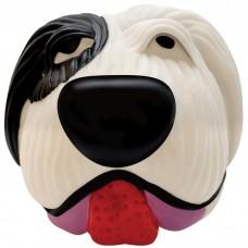 """PETSTAGES Black & White Dog Ball - игрушка-пищалка для средних и крупных пород собак """"Белый Бим Черное Ухо"""""""