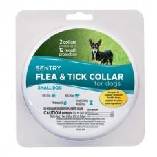 SENTRY Flea and Tick Small - ошейник от блох и клещей для собак малых пород