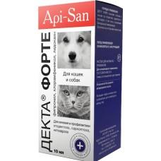 Api-San ДЕКТА ФОРТЕ ушные капли для котов и собак