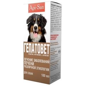 Api-San ГЕПАТОВЕТ для лечения и профилактики заболеваний печени у собак