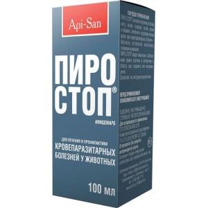 Api-San (АпиСан) ПИРО-СТОП антипротозойный лекарственный препарат для животных ✈ Доставка по Украине | PETPLUS