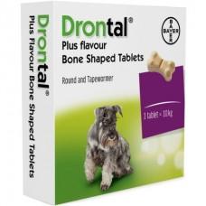 Bayer Drontal Dog - ангельминтик для собак широкого спектра / на 10 кг веса