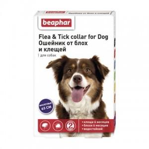Купить ошейник для собак «Инсектоакарицидный для собак»   Лечение - Собака - Беафар - Ошейник - Насекомые - Клещи: ошейник от насекомых   страна-производитель: Нидерланды   Petplus