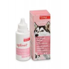 Candioli Optivet - средство для чистки области вокруг глаз у собак и кошек