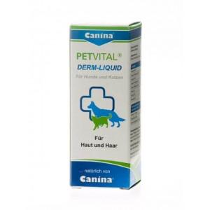 Canina (Канина) Petvital Derm Liquid - средство при проблемах с кожей и шерстью