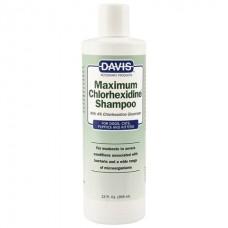 Davis Maximum Chlorhexidine Shampoo - шампунь для собак и котов при заболеваниях кожи и шерсти