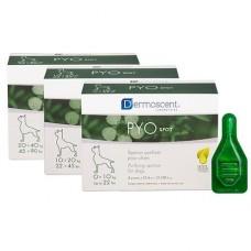 Dermoscent PYOspot® For Dogs - cредство по уходу за кожей и шерстью собак с антибактериальным эффектом