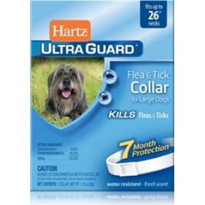 Hartz® UltraGuard® (Харц) Collar For Large Dogs ☆ Ошейник для собак от блох и клещей 7мес (65см.)