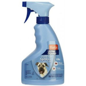 Hartz (Харц) Ultra Guard Flea s Tick Spray for Dogs  ✔ Спрей от блох и клещей для собак