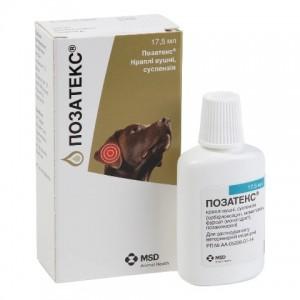 Pozatex (Позатекс) - ушные капли для лечения отитов у собак