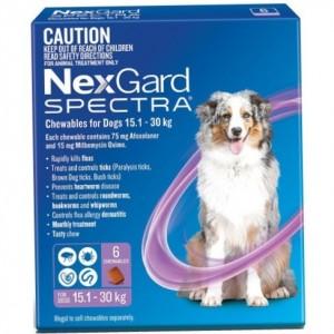 Нексгард спектра | Nexgard Spectra for dogs - жевательные таблетки от блох, клещей и глистов для собак от 15 до 30 кг