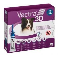 Ceva VECTRA 3D - капли от блох и клещей для собак весом (от 10-25 кг)