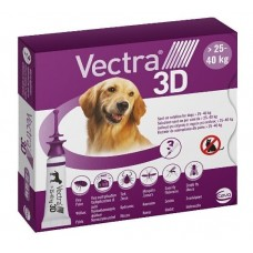 Ceva VECTRA 3D - капли от блох и клещей для собак весом от (25-40 кг)