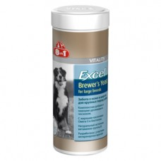 8 in 1 Excel Brewer's Yeast for large breed - пивные дрожжи для собак крупных пород