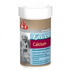 8 в 1 Витамины для щенков и собак Excel Calcium (Calcidee) ● кальций с витамином D