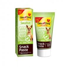 GimDog Snack Paste Sensitive - Паста для маленьких собак (аллергиков)