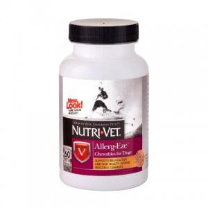 Nutri-Vet (Нутри-Вет «ДЛЯ АЛЛЕРГИКОВ» комплексная добавка при аллергии у собак, жевательные таблетки)