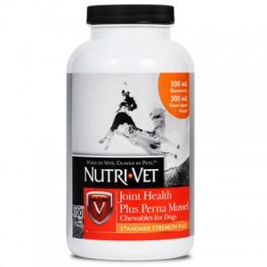 ИщЕте добавку для укрепления суставов у собак? «Nutri-Vet Joint Health Plus Perna Mussel» разработан ветеринарами для поддержания здоровой функции суставов и связок