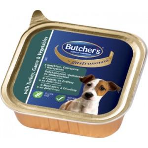 Butcher`s ( Бутчерс)  консервы паштет Индейка+Дичь150г