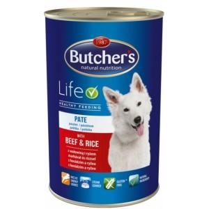 Butcher`s (Бутчерс) Basic консервы говядина + рис