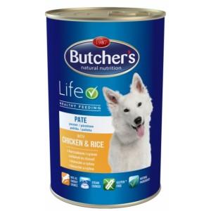 Butcher`s (Бутчерс) Basic консервы курица + рис