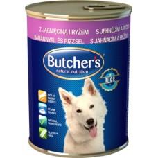 Butcher`s (Бутчерс) Basic - консервы для собак / ягненок с рисом