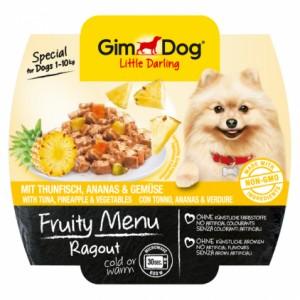 GimDog Little Darling Fruity Menu рагу из тунца, ананаса и овощей для собак