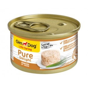 GimDog Little Darling Pure Delight chicken - влажный корм для собак / курица