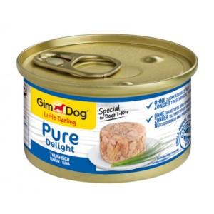 GimDog Little Darling Pure Delight Tuna - влажный корм для собак / тунец