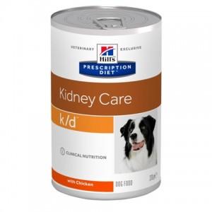 Консервированный лечебный влажный корм «Hill's PD K/D Canine» | Консервы для поддержания качество жизни собак с почечной недостаточностью | Petplus