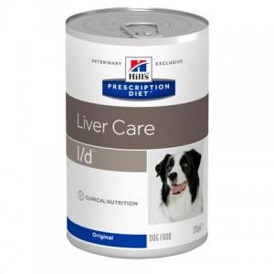 Консервированный лечебный влажный корм «Hill's PD L/D Canine» | Консервы для поддержания здоровья собак с заболеваниями печени | Petplus