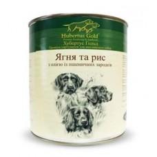 Hubertus Gold Canned Food For Dogs Menu Lamb&Rice - консервы для собак с ягненком и рисом