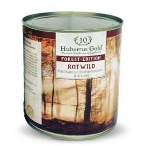 Купить Hubertus Gold, консервы для собак, Хубертус Голд с олениной, пастернаком, смородиной и зеленью, доставка корма для собак по Украине