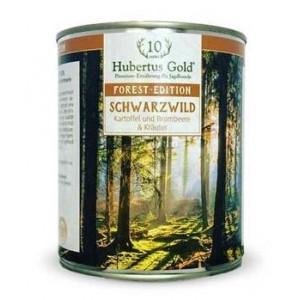 Купить Hubertus Gold, консервы для собак, Хубертус Голд с диким кабаном, картофелем, ежевикой и зеленью, доставка корма для собак по Киеву и Украине