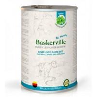 Baskerville Holistic Rind&Lachs&Pastinake&Spinate - консервы для собак с лососем, говядиной и шпинатом