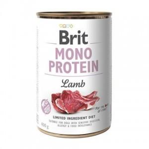 Влажный корм для собак с чувствительным пищеварением - замечательный вкус и аромат «Brit Mono Protein Lamb» | консервы: Брит Моно Протеин для собак с мясом ягнёнка | Petplus