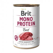 Brit Mono Protein Beef - консервы для собак / с говядиной