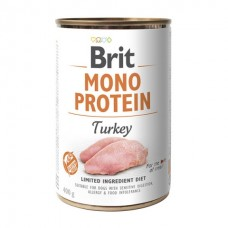 Brit Mono Protein Turkey - консервы для собак / с индейкой