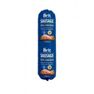 Brit Premium Dog Sausage Chicken - колбаса для собак с курицей
