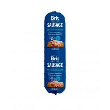 Brit Premium Dog Sausage Chicken & Lamb - колбаса для собак с курицей и ягненком