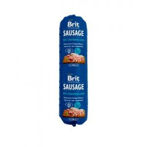 Brit Premium Dog Sausage Chicken and Lamb - колбаса для собак с курицей и ягненком