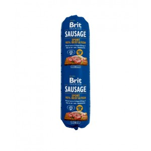 Brit Premium Dog Sausage Sport Beef and Fish - колбаса для активных собак с говядиной и рыбой