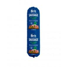 Brit Premium Dog Sausage Turkey & Peas - колбаса для собак с индейкой и горохом