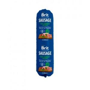 Brit Premium Dog Sausage - колбаса для собак с индейкой и горохом
