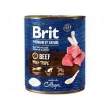 Brit Premium By Nature Beef With Tripe - консервы с говядиной и рубцом