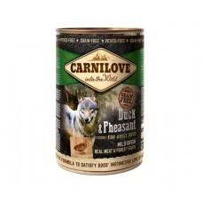Carnilove Dog Duck & Pheasant - консервы для собак с уткой и фазаном