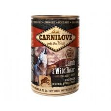 Carnilove Dog Lamb & Wild Boar - консервы для собак с ягненком и диким кабаном